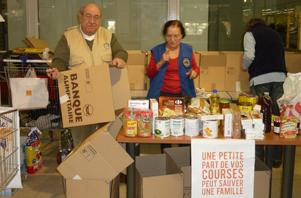 Collecte de la Banque Alimentaire
